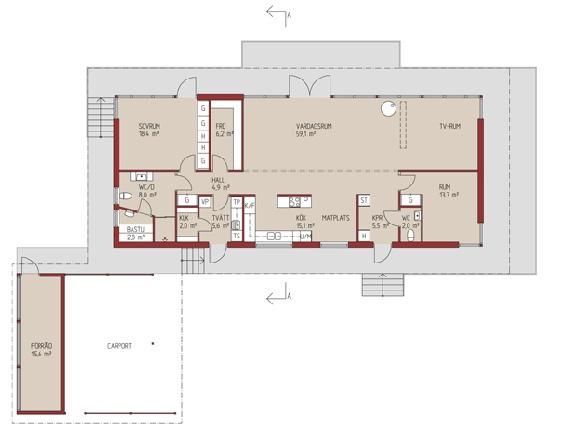 Villa Nätt - plan